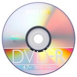 DVD-R4.7GB PHILIPS 16x,