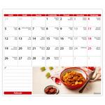 Asztali naptár, KONYHASHOW,