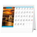 Asztali naptár, BUDAPEST,