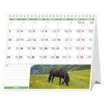 Asztali naptár, LOVAK,