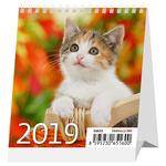 Asztali naptár Mini Cicák,