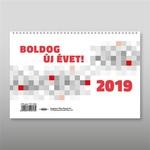 Asztali naptár 23TA álló 2019!
