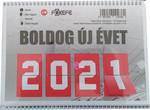 Asztali naptár 23TA, 2021.évi!