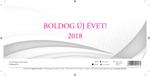Asztali naptár 24TA álló 2018!