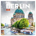 Falinaptár 30x30cm, BERLIN,