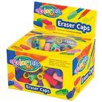 Ceruzavédő kupakradír színes,