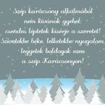Hűtőmágnes karácsonyi XMHM-041