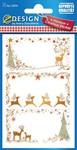 Matrica AVERY 52814 karácsonyi