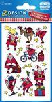 Matrica AVERY 52815 karácsonyi