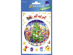 Matrica AVERY 52916 karácsonyi