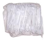 Műanyag villa, 16 cm, 100 db,