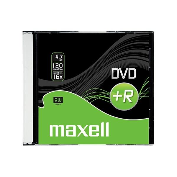 DVD+R4.7Gb MAXELL 16x, vékony tokos
