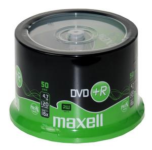 DVD+R4.7Gb MAXELL 16x, 50 db, hengeres