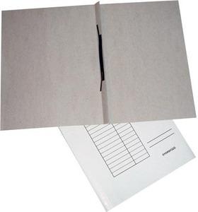 Gyorsfűző A4, papír, GRS, 230 g, táblázatos előlappal, fehér