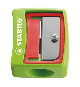 Hegyező 1 lyukú, műanyag, STABILO 4548 Woody krétaceruzához